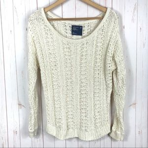 American Eagle Outfitters Open Knit Sweater
